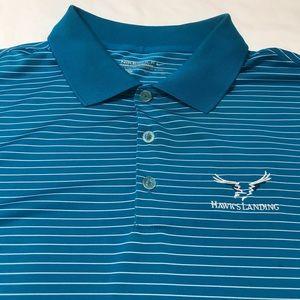 Teal Nike Golf Tour Performance Polo - XXL